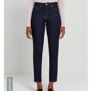NWT Frank&Oak The Debbie High-Waisted Skinny Jeans